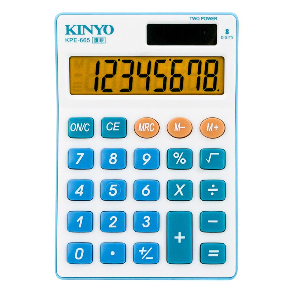 KINYO 大螢幕護眼計算機 KPE-665
