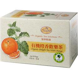 曼寧 有機橙香歡樂茶(2gx20入/盒)