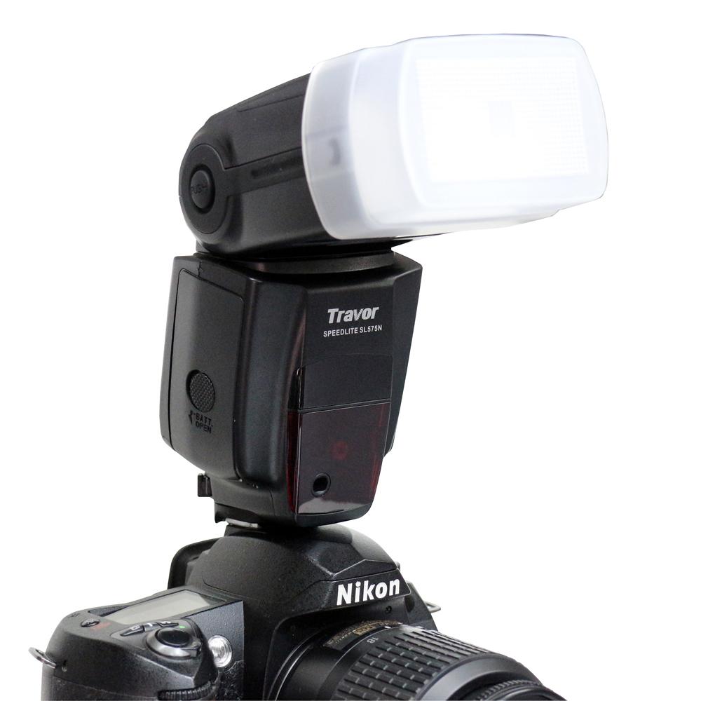 Travor SL-575N 閃光燈 小腳架 柔光罩 底座(FOR NIKON)