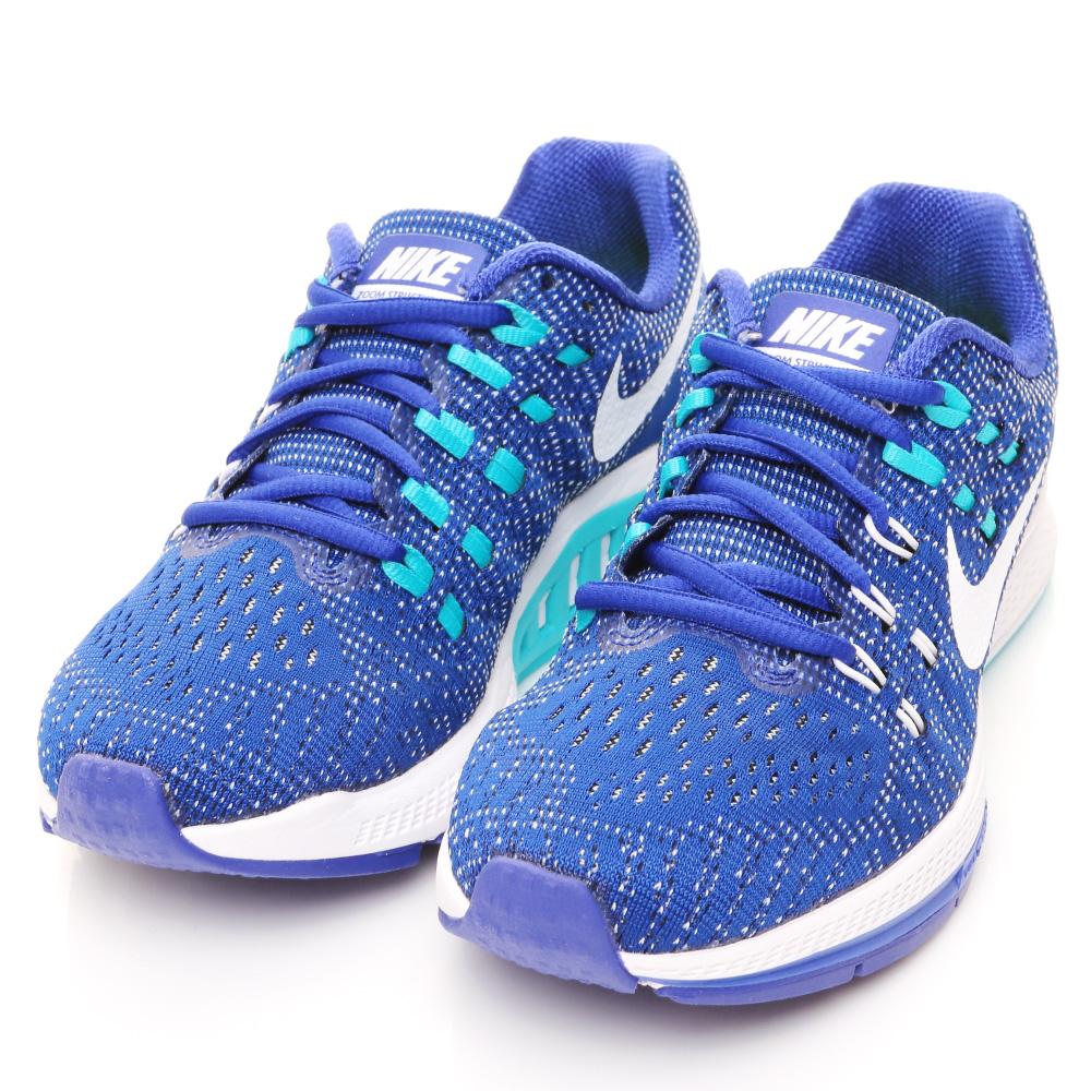 24H-NIKE-女慢跑鞋806584402-藍