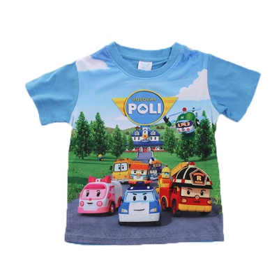 POLI波力短袖T恤 k50104