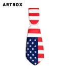 ARTBOX- 領帶造型行李吊牌(國旗系列-美國)