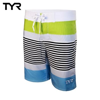 美國TYR男款彈性海灘泳褲 Boardshort VIridian Green