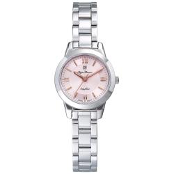 Olym Pianus 奧柏表 微甜馬卡龍時尚石英腕錶-粉/24mm