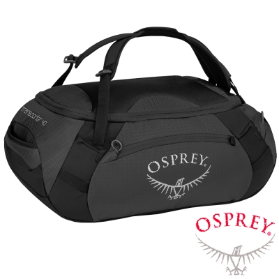 【OSPREY】 Transporter 40L 轉運者系列 多功能裝備袋/後背包_鐵釘灰