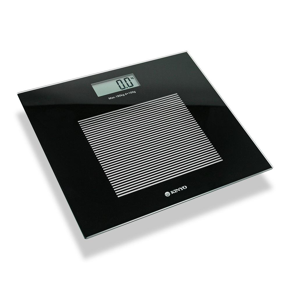 KINYO黑晶電子體重計(DS-6583)