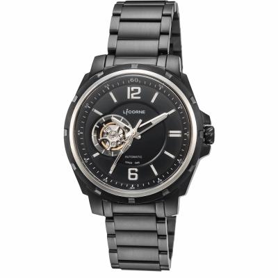 LICORNE 精湛工藝三十週年限定機械錶 -銀/47mm