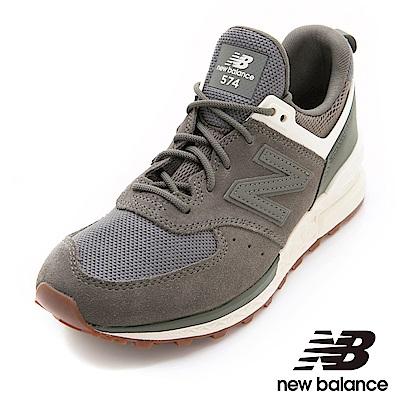 New Balance 574復古鞋 WS574SFJ女性軍綠