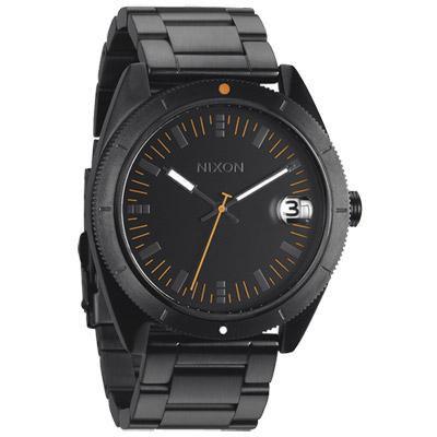NIXON The ROVER SS 率性魅力時尚運動腕錶-IP黑x螢光橘/42mm
