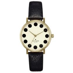 kate spade   甜蜜魔法泡泡時尚腕錶-黑/35mm
