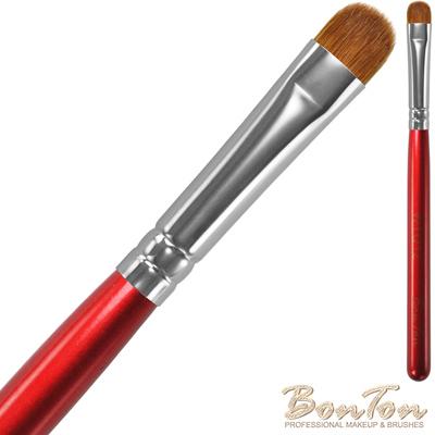 BonTon 湛紅短柄 顯色短眼影刷(S) WTQ12-70%貂毛