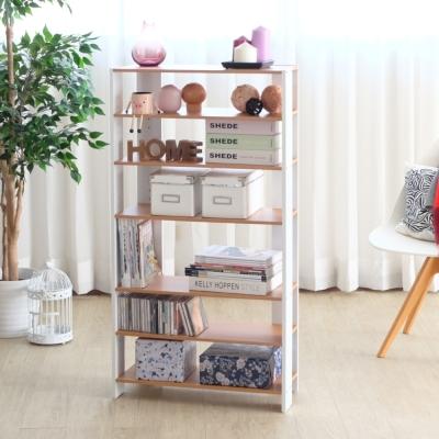 EASY HOME-加寬六層美背開放式收納架-62.8x25.4x120-DIY