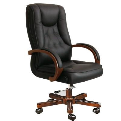 Bernice~米特半牛皮主管辦公椅~66x50x123cm