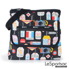 LeSportsac - Travel飛行斜背包 (環遊世界)