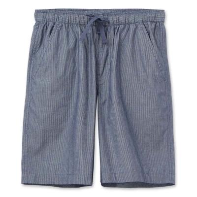 Hang-Ten-男裝-經典綁帶短褲-藍