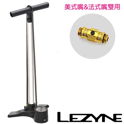 LEZYNE-MACRO FLOOR DRIVE直立式打氣筒(白)