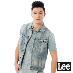Lee 牛仔背心Vintage Laundry-男款-灰