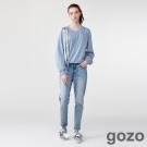gozo褪舊搖滾男友牛仔褲 (二色)