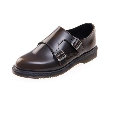 (女) Dr.Martens PANDORA 經典雙側扣孟克鞋*咖啡