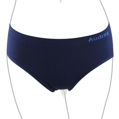推Audrey-就是愛運動 中腰三角褲(律動藍)