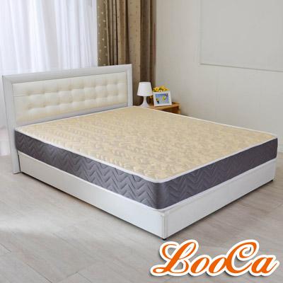 LooCa 蜂巢透氣圍邊獨立筒床墊-加大