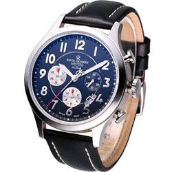 Revue  Thommen 航空飛行 計時腕錶-45mm