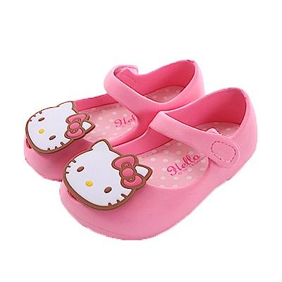 Hello Kitty 輕量美型娃娃鞋 粉 sk0325魔法Baby