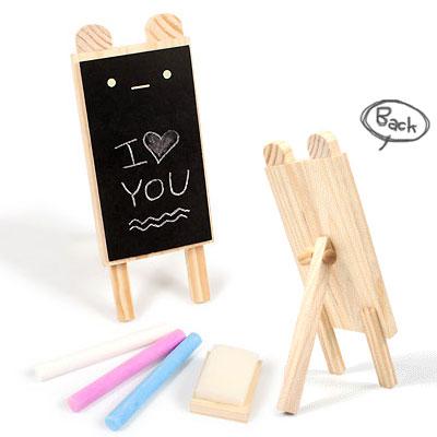 iSFun 動物造型 木製留言小黑板