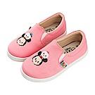 迪士尼童鞋 TsumTsum 米奇米妮 休閒鞋 便鞋-粉