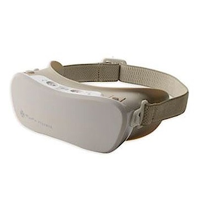 (樂齡網)LOURDES蒸氣眼罩AX-KX500BE (米白色)