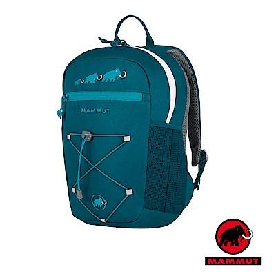 【瑞士 MAMMUT 長毛象】新款 First Zip 兒童背包16L_海藍