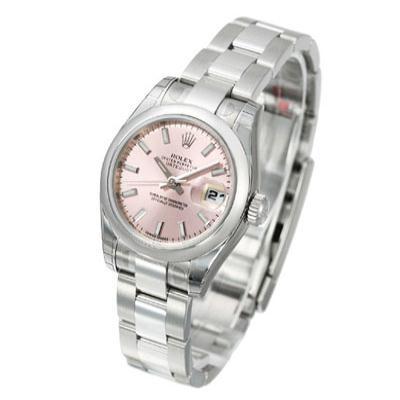 ROLEX 勞力士 Datejust 179160 蠔式恆動日誌型女錶 -粉紅標準面/26mm