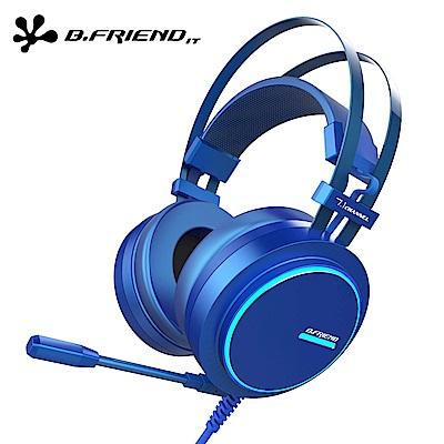 B.FRIEND CH4 虛擬7.1藍極光電競耳機