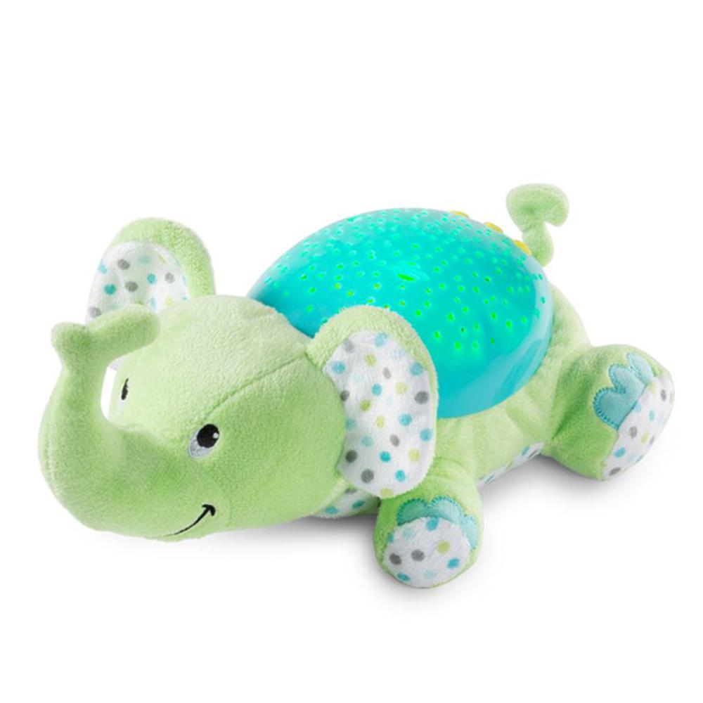 美國 Summer Infant 寶貝舒眠星光投射機-小象
