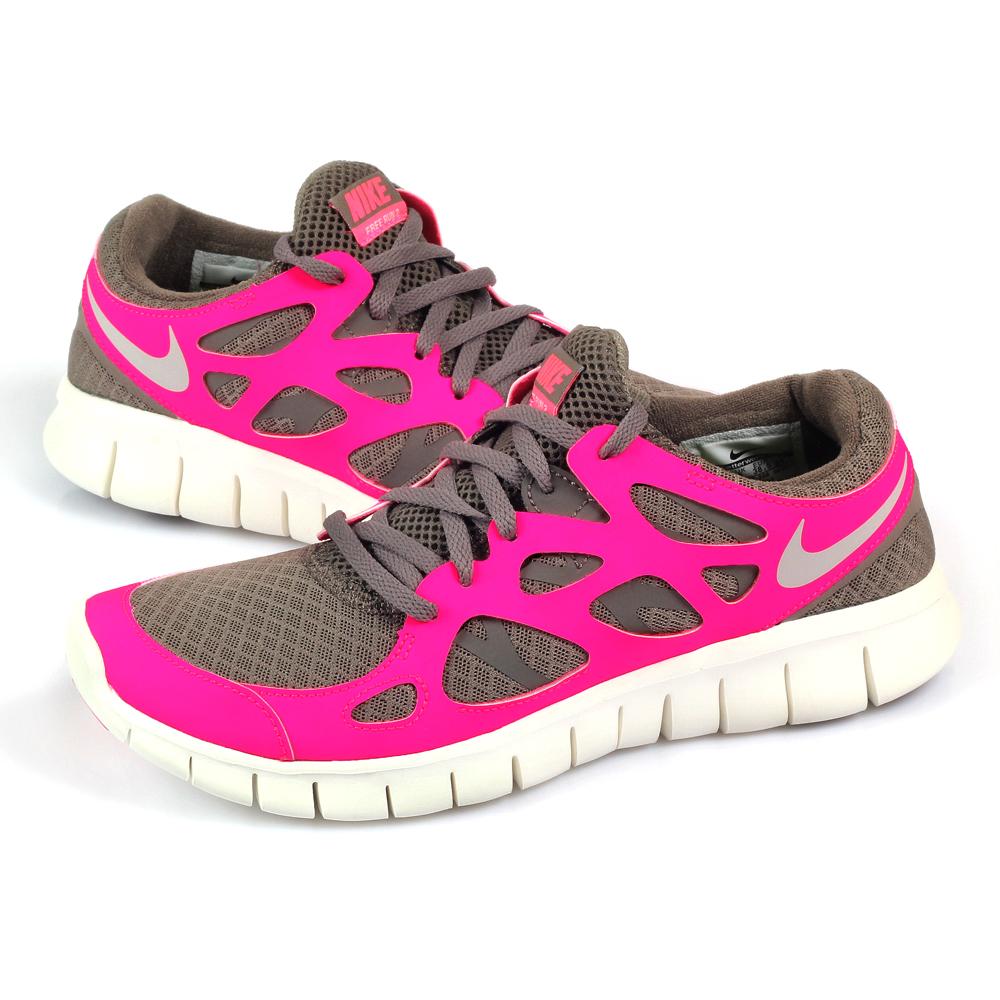 (女)NIKE FREE RUN+ 2 慢跑鞋 443816-206