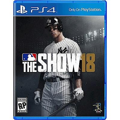 美國職棒大聯盟 18 PS4英文版