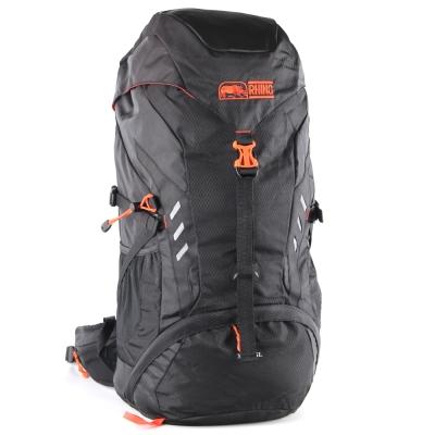 犀牛XLite 45公升登山背包-螢光橘