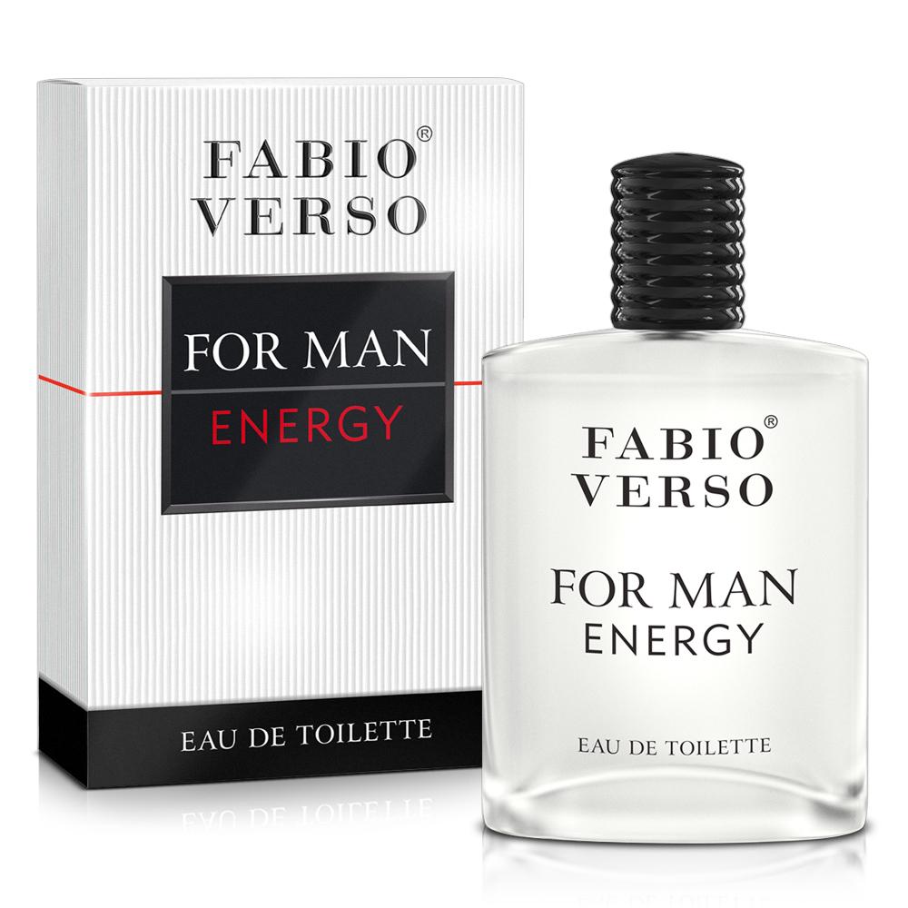 (即期品)FABIO VERSO 能量元素男性淡香水 100ml