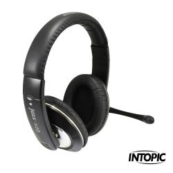INTOPIC廣鼎-頭戴式耳機麥克風 JAZZ-520