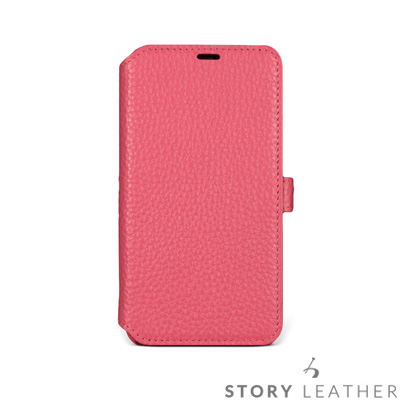 STORYLEATHER iPhone X Style-iPX3 硬殼式側翻  ...