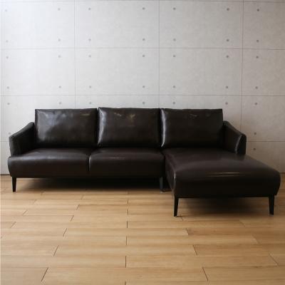 微量元素 工業風Robin羅賓L型沙發(2色)