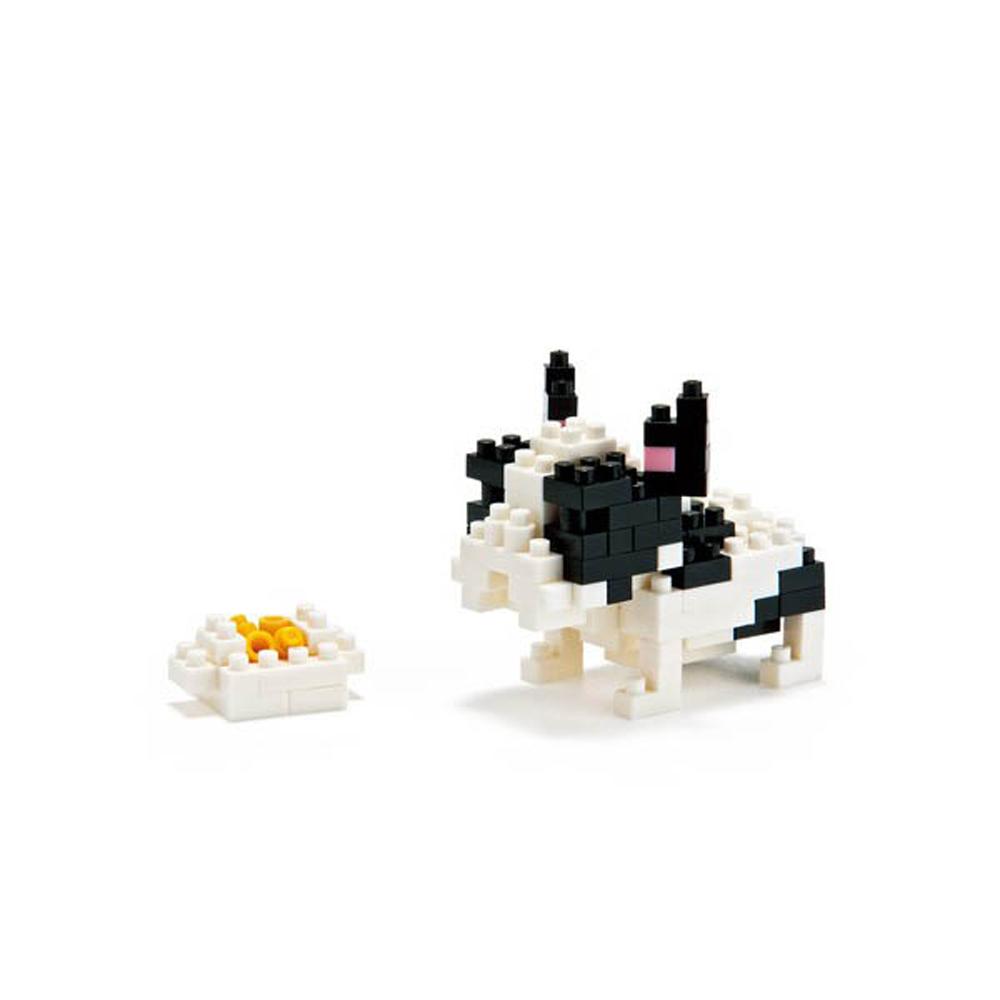 【KAWADA河田】nanoblock迷你積木/動物系列/鬥牛犬 NBC-050