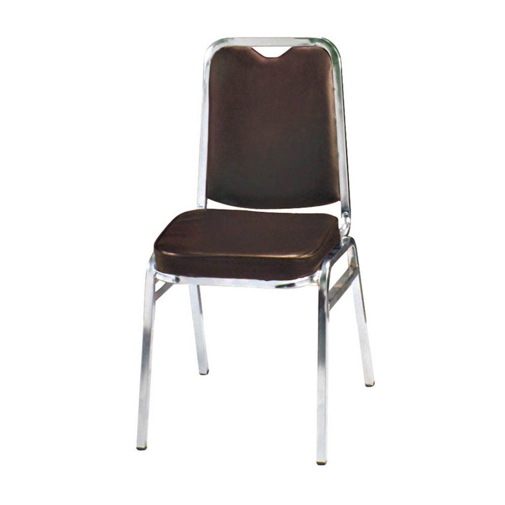H&D 咖啡皮猛士餐椅 (寬43X深49.5X高84cm)