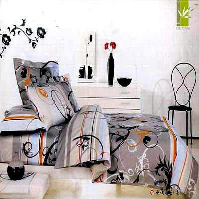 【DUYAN竹漾-水調歌舞】雙人床包兩用被套組