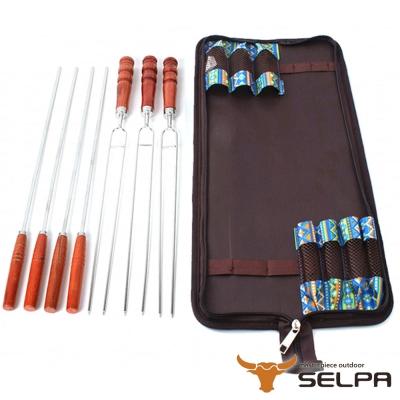 韓國SELPA 不鏽鋼烤肉叉混合七件組