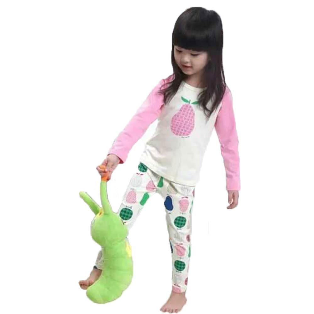 魔法Baby兒童彈性舒適居家長袖套裝 k43112