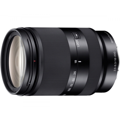 SONY-E18-200mm-F3-5-6-3-OSS-LE望遠變焦鏡頭-平行輸入