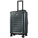 VICTORINOX 瑞士維氏Spectra 2.0輕量級霧面26吋硬殼行李箱-深灰
