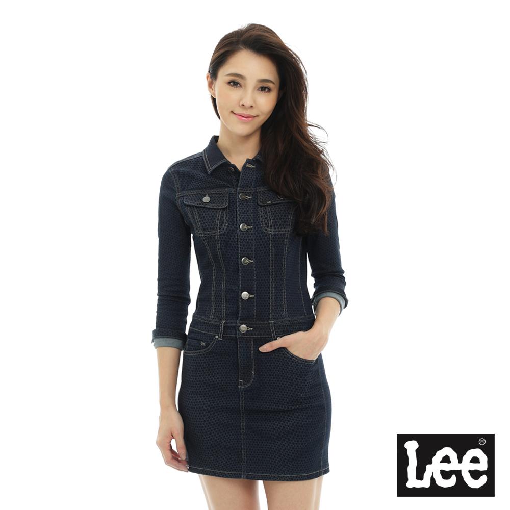 Lee 長袖牛仔洋裝/BO-女款
