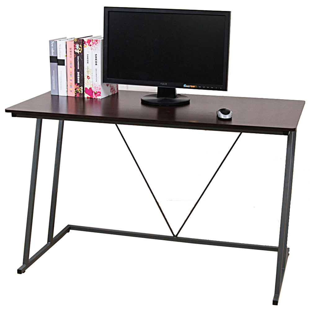 凱蒂附電線孔蓋工作桌/電腦桌(寬120cm)(2色)